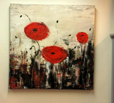 bloemen doek
